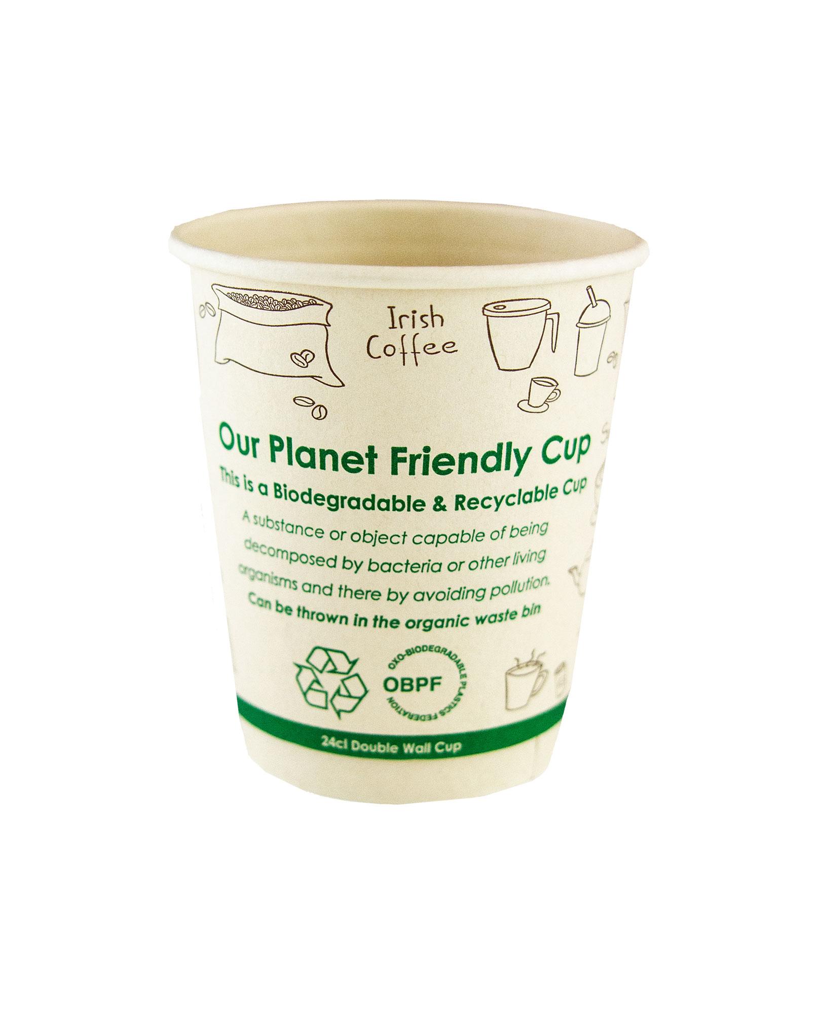 Cardboard cup of Bamboo