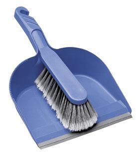 Broom and sweeper set