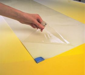 Adhesive mats