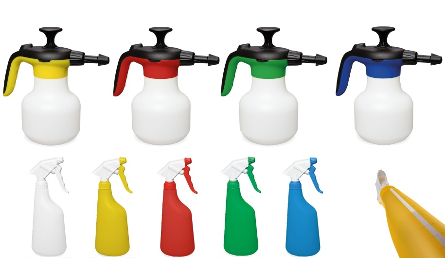Spray bottles & low pressure sprayers